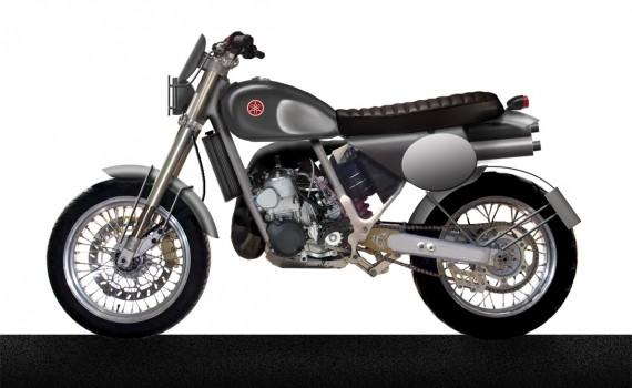 Design board - based on Yamaha 250 WR 1994